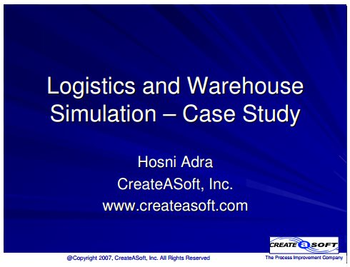 lean logistics management in healthcare a case study Effectiveness of warehouse management with lean and rfid application: a case study a rfid case-based logistics resource management system for.
