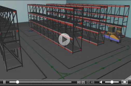 3d warehouse simulation