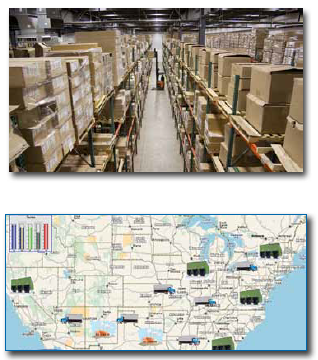 Lean Warehouse & Distribution Center with SimTrack Software