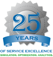 Simcad Pro - 25 years of service excellence - simulation, optimization, and analytics