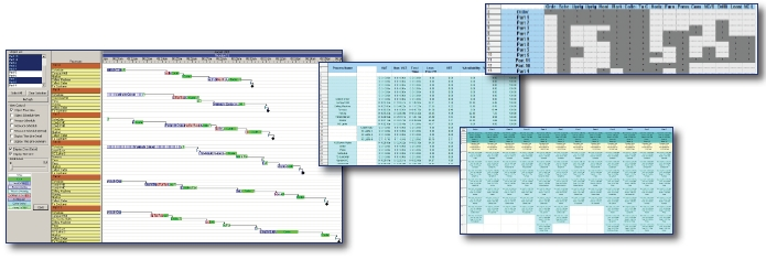 lean simulation reports