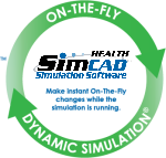 on-the-fly dynamic healthcare simulation software