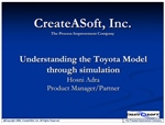 Understanding The Toyota Model through Simulation