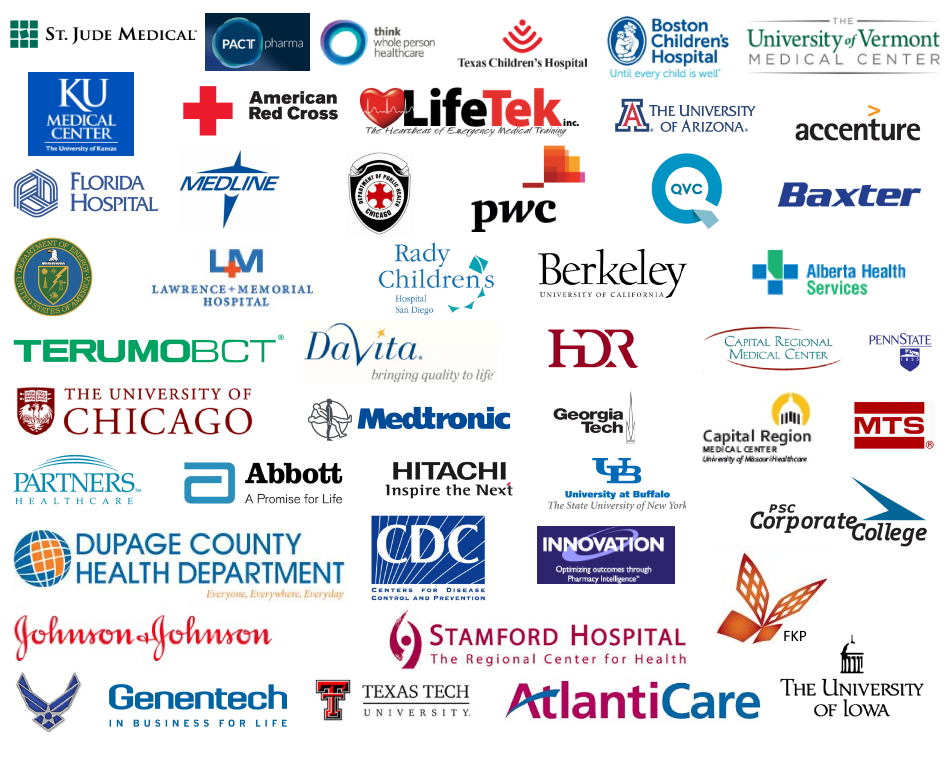 Healthcare simulation software Clients