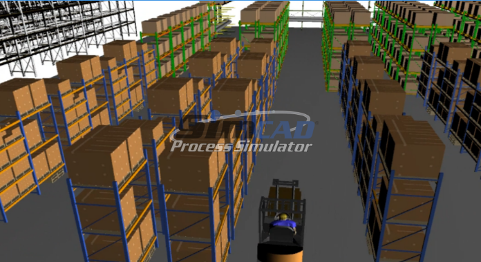 warehouse digital twin