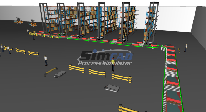 ASRS integration with simulation