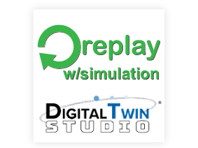 Replay with simualtion