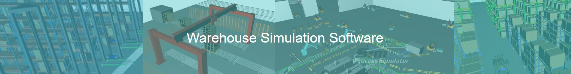 warehouse simulation - warehouse simulation software