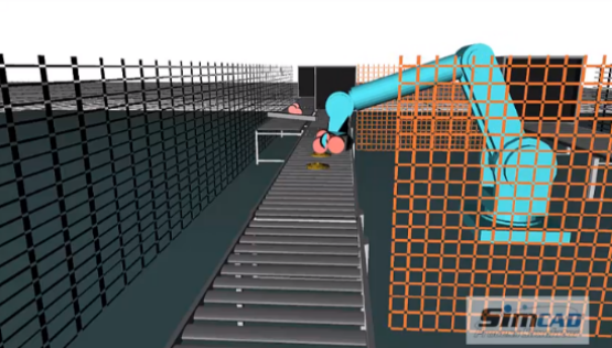 Robot - Pallet Stacking simulation model